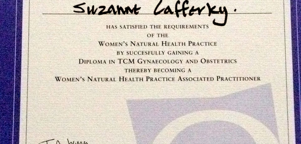 "2012: GRADUATED TO BECOMING AN ASSOCIATE PRACTITIONER OF THE WOMEN""S NATURAL HEALTH PRACTICE IN THE UK."